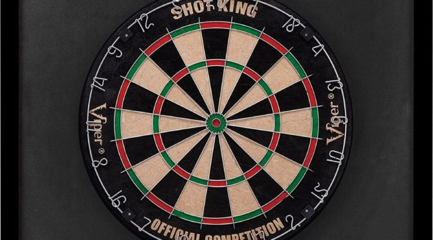 Protect the walls with Backboard for dartboard