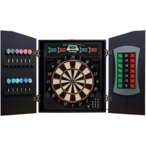 Electronic dartboard Cabinet for electronic dartboard